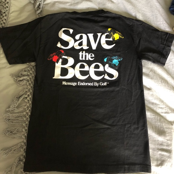 ac9737509636 golfwang Tops - golf wang save the bees t shirt